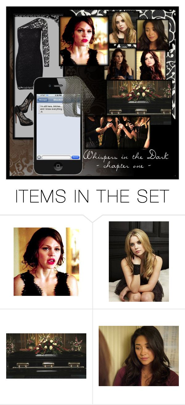 """""""Whispers in the Dark (A Pretty Little Liars fanfiction)"""" by sagelondyn ❤ liked on Polyvore featuring art, PrettyLittleLiars, pll, fanfiction and jasondilaurentis"""