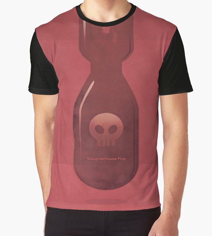 """Slaughterhouse-Five - Kurt Vonnegut"" Graphic T-Shirts by RedHillPrints   Redbubble"