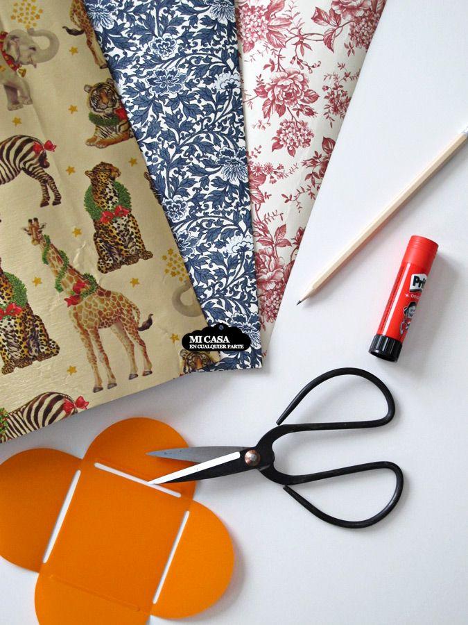 Como hacer sobres caseros con papel de regalo   Blog www.micasaencualquierparte.com