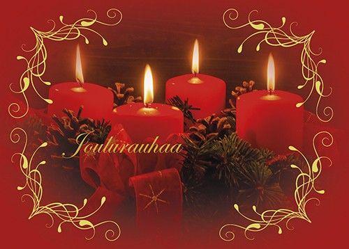 Anki :: Nro 8 Joulukortti Kynttiläaihe - Joulu