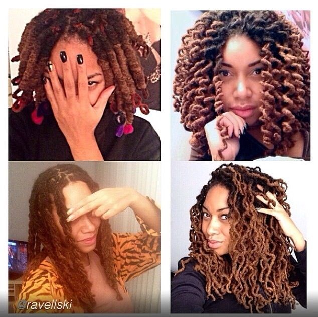 styles you can do with curly hair pipe cleaner curls vs braid out loc dolls 3268