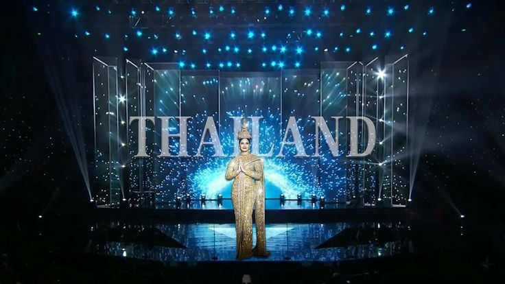 So proud of you #MissUniverse #Thailand