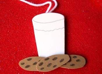 Cookies & Milk Ornament Craft: Christmas Crafts for Kids & Homemade Ornaments - Kaboose.com