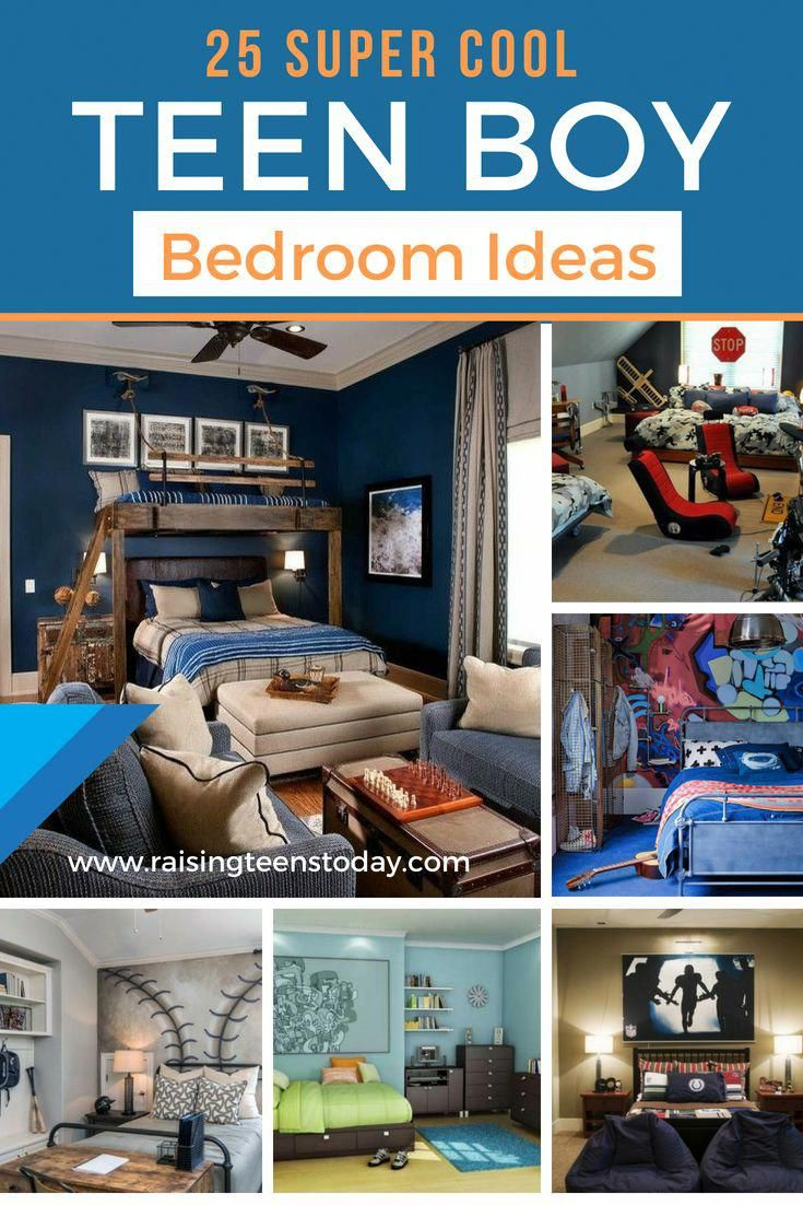 25 Super Cool Teenage Boy Bedroom Ideas The Best Of The Best Of Ideas And Cool Ideas All Right Here To Give Boys Bedrooms Boy Room Paint Teenager Bedroom Boy