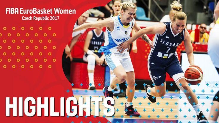 Ukraine v Slovak Republic - Highlights - QF-Qual - FIBA EuroBasket Women...