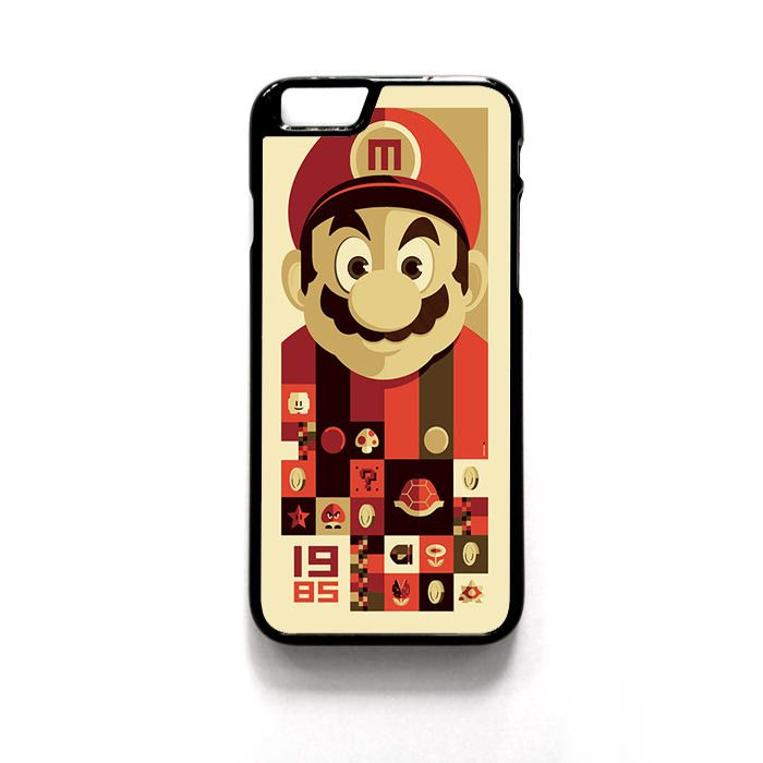 Mario Bross Old Game For Iphone 4/4S Iphone 5/5S/5C Iphone 6/6S/6S Plus/6 Plus Phone case ZG