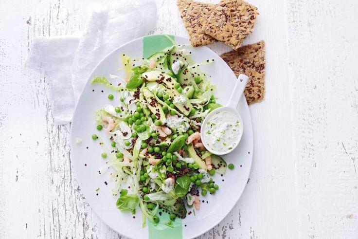 13 april - Avocado in de bonus - Onze versie van de Californische green goddess-salade - Recept - Allerhande