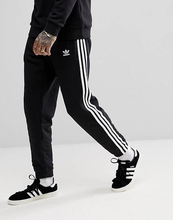 086c9f000 adidas Originals adicolor 3-Stripe Joggers In Black CW2981 | Sports ...