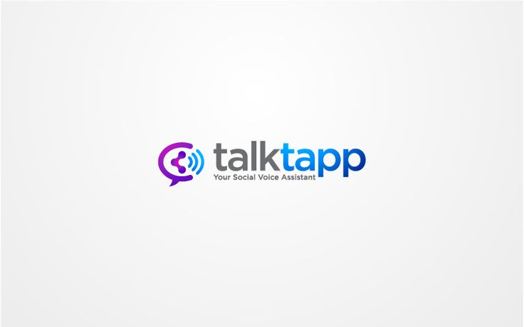 logo design for talkapp    http://www.talktapp.com/