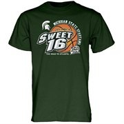 Michigan State Spartans 2013 Men's Basketball Tournament Sweet 16 T-Shirt