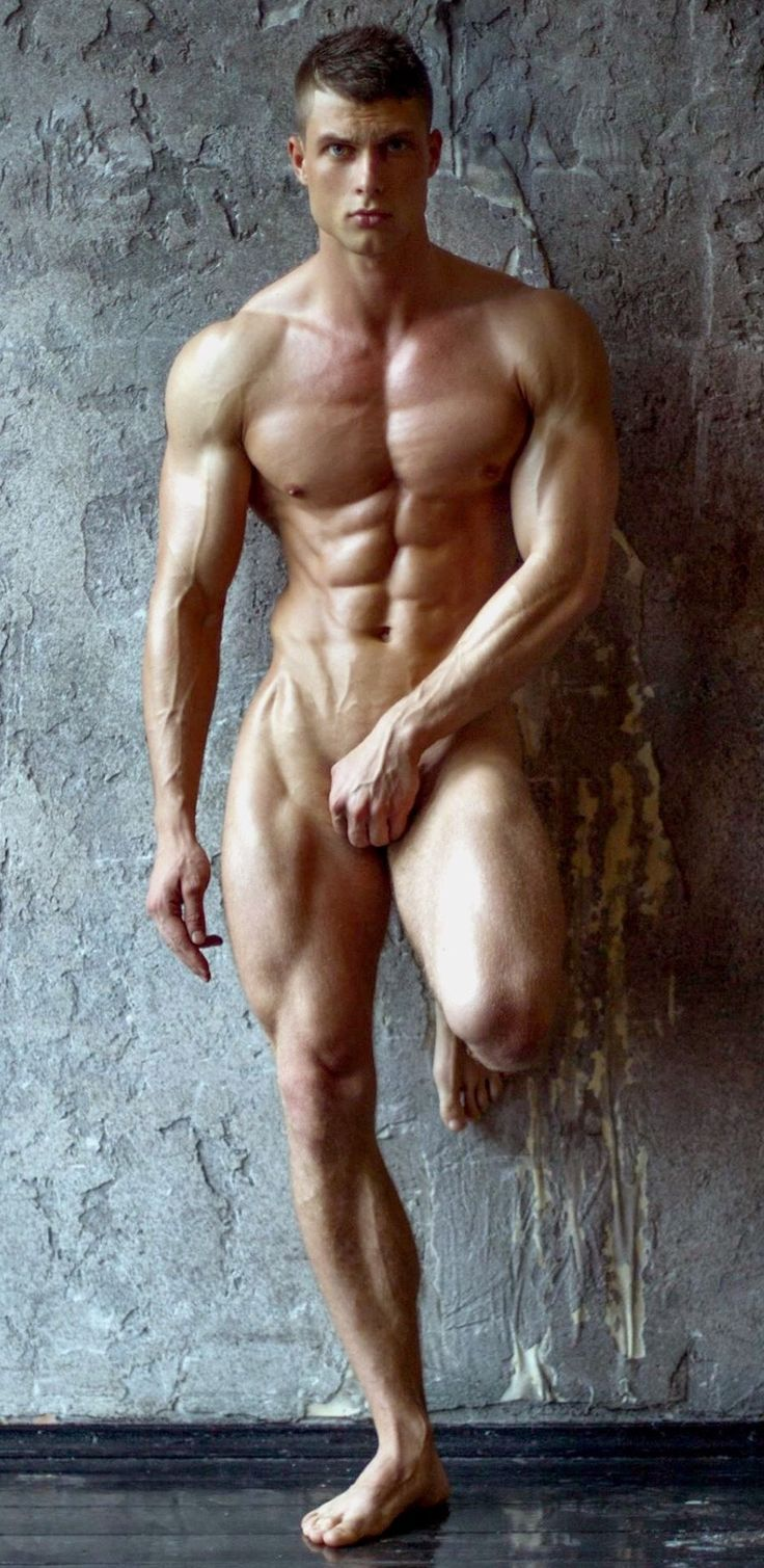 Hot male fitness models nude