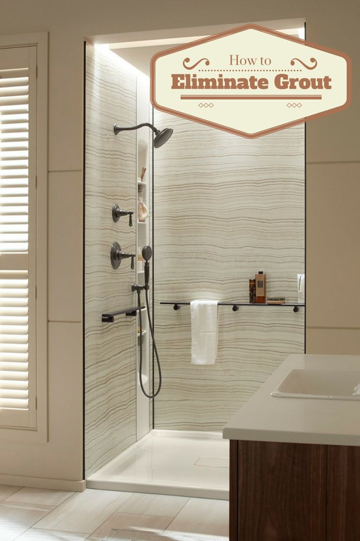 5 Strategies  including grout free shower wall panels   to eliminate the  hassles of grout. 17 best ideas about Shower Wall Panels on Pinterest   Shower walls