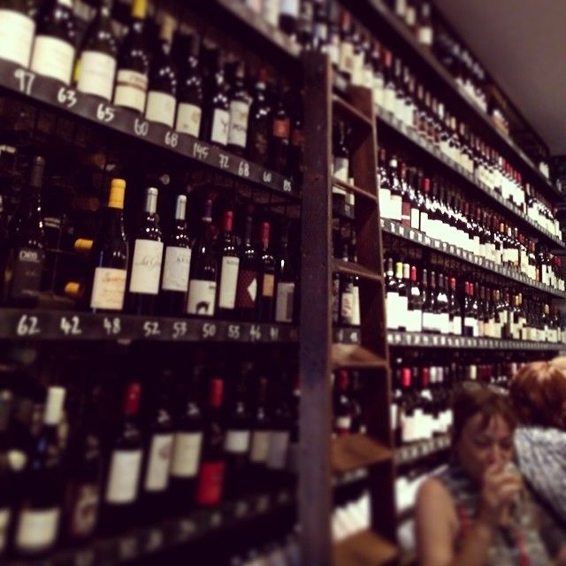 City Wine Shop is a pretty good place for a drink and some nibbles