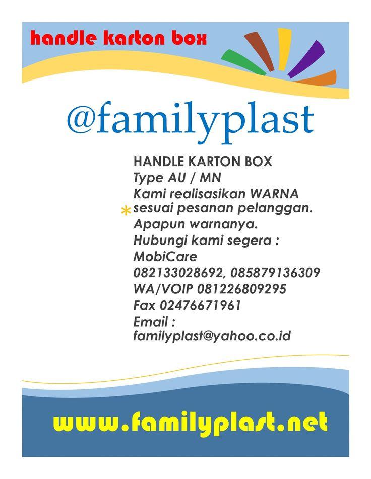 Handle Karton Box type AU dan type MN atau produk lainnya, kami siap merealisasikan Warna Pilihan Sesuai Pesanan Anda.  dalam gambar ( MT = Merah Tua, MM = Merah Muda, MS = Merah Sedang ) Mobicare 085879136309, 082133028692,  WA VOIP 081226809295 Fax / Winfax 02476671961 #handle, #karton, #box, #familyplast, #familyplastic, #hangtag, #souvenir, #elektronik, #charcoal, #led, #lcd, #lamp, #indonesia, #trend, #facebook, #instagram, #yahoo, #google, #youtube, #whatsapp, #twitter, #tumblr…