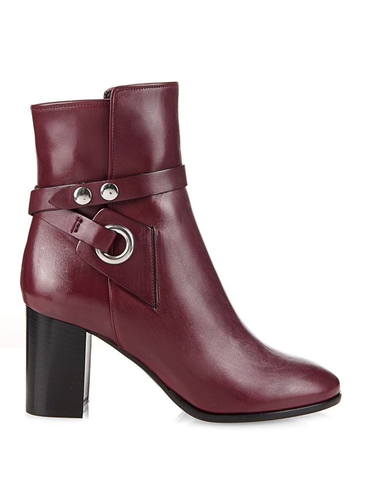 1000  ideas about Leather Ankle Boots on Pinterest | Leather boots