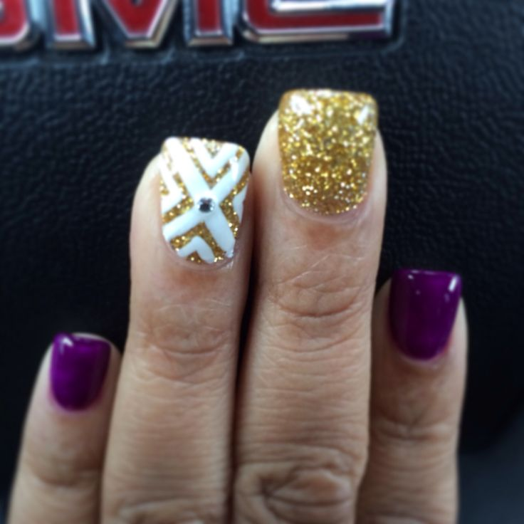 1000 ideas about purple acrylic nails on pinterest