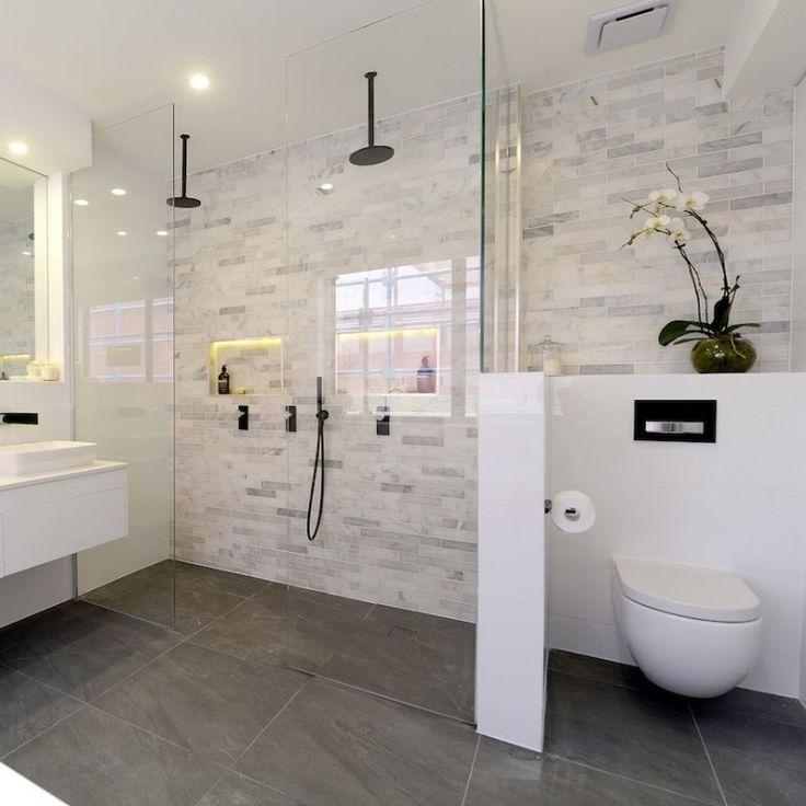 Best 25 Bathroom Feature Wall Ideas On Pinterest Freestanding Bathroom Tiles Wall 736 X 736 Shower Wall Tile Bathroom Feature Wall Shower Wall Tiles Design
