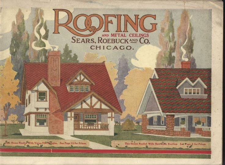 Sears Roofing And Metal Ceilings, 1917. Sears, Roebuck U0026 Co. From The