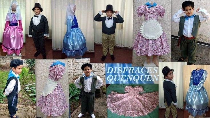 Vendo disfraces para niños  para Fiestas Patrias de Gaucho, Paisana, Caballero,  Dama Antigua  y  Coya para fiestas patrias, todos de muy ...128597983