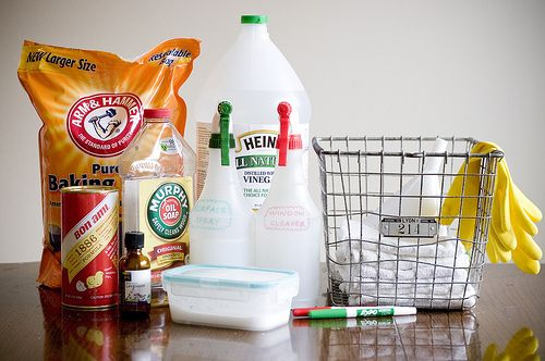 easy recipes for green cleaning supplies