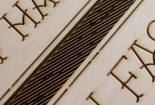 Wood laser engraving | Jordan Metcalf