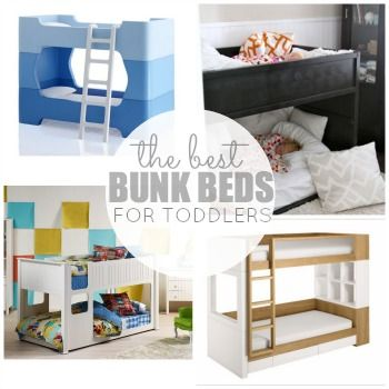 The Best Bunk Beds For Toddlers- I totally wanted the Ikea one the first time I saw it... Can I buy it as soon as I'm PG or is that too soon? hahaha