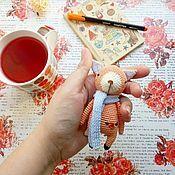 Куклы и игрушки ручной работы. Ярмарка Мастеров - ручная работа Лиса. Handmade.