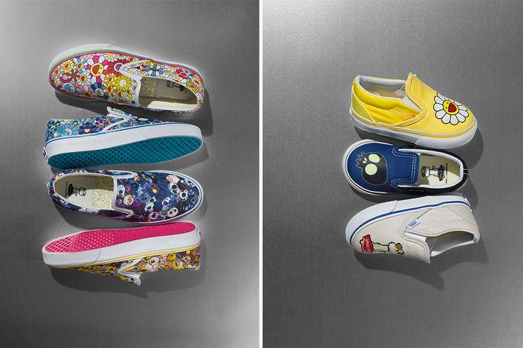 Children shoes Vault by Vans + Takashi Murakami Takashi Murakami  fakt pěkný potisky