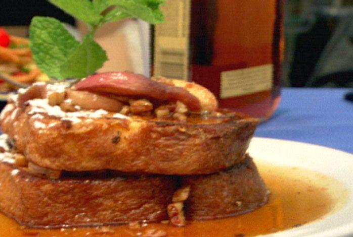 Braised Maple-Bourbon Pork With Beans Recipe — Dishmaps