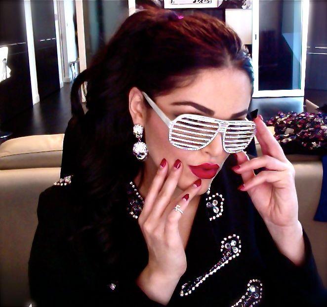 Red Nail Polish Lana Del Rey: Monie Ponie & Miss Mama ChooChoo