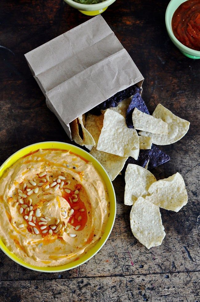Mexican Goat Cheese Dip Recipe. Fluffy whipped goat cheese mixed with dried chiles, garlic, and pine nuts. Easy Easter appetizer.