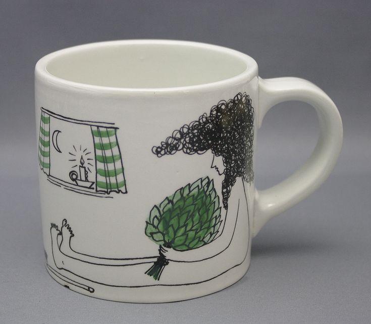 Arabia, Steam mug I Löyly muki, Gunvor Olin-Grönqvist