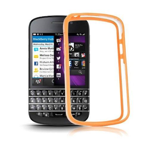 ClearBumper (Orange) Blackberry Q10 Bumper