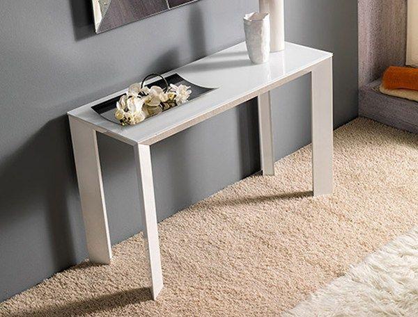 Design wall mounted kitchen dining aluminium console table MANHATTAN MANHATTAN Collection by RIFLESSI   design RIFLESSI