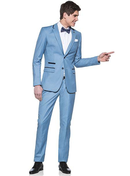 Complet bleu clair Marco Ferrera