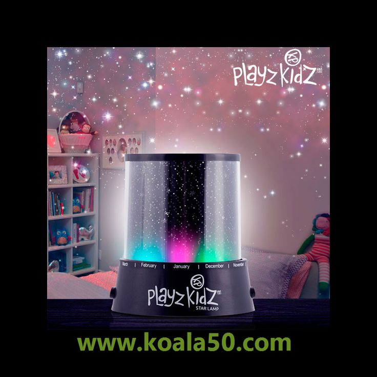 Lámpara LED-Proyector de Estrellas Playz Kidz - 2,86 €   ¡Regala a tus hijos un cielo estrellado con la lámpara LED-proyector de estrellas Playz Kidz! Estalámpara infantilfascinará cada noche a los más pequeños al proyectar estrellas en el techo...  http://www.koala50.com/regalos-para-bodas-comuniones-bautizos/lampara-led-proyector-de-estrellas-playz-kidz