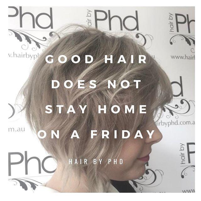 • f r i d a y • .  .  .    Cut + colour and style by Lemai at our Parramatta Salon   #quotes #hair #instahair #hairstyles #haircolour #sleep #quoteoftheday #eat #messyhair #summer #fashion #instafashion #blonde #shorthair #hairoftheday #texture #hairideas #braidideas #friday #hairfashion #hairofinstagram #hairdresserlife #TGIF #weekend