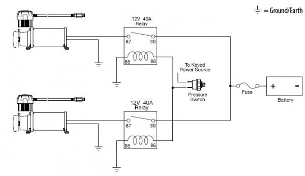Air Suspension Wiring Diagram | Diagram | Diagram, Link, Wire on