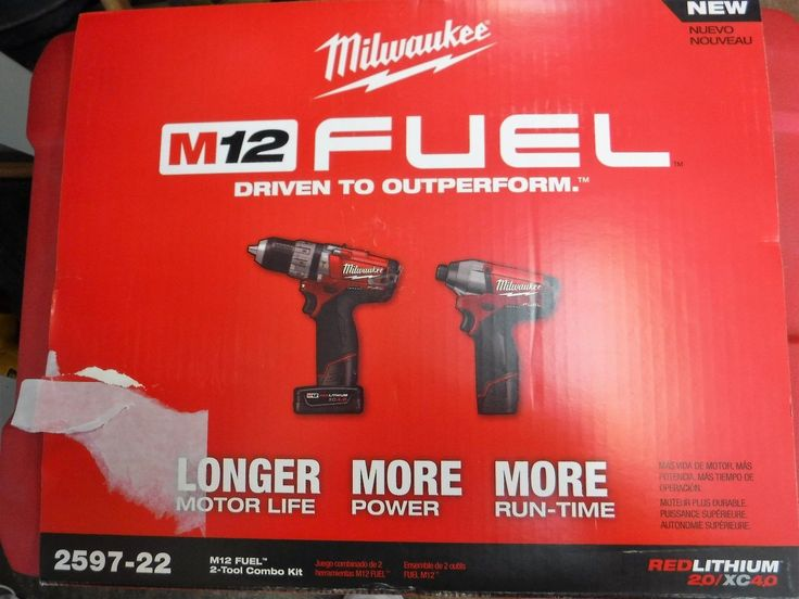 Combination Sets 177000: Milwaukee 2597-22 M12 12V M12 Fuel 2 Tool Combo Kit (Hammer Drill Impact Driver -> BUY IT NOW ONLY: $159 on eBay!