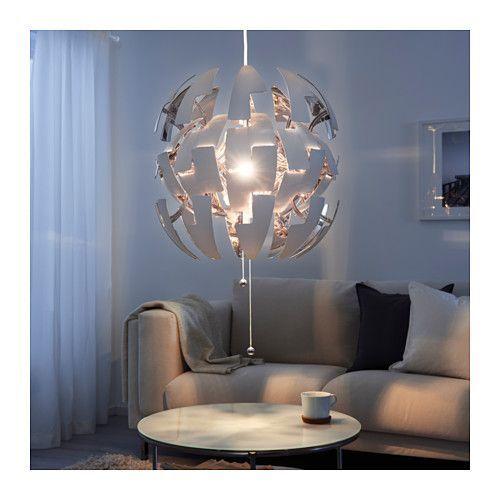 IKEA PS 2014 Hanglamp - wit/zilverkleur - IKEA
