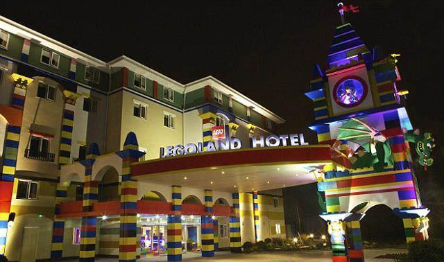 Lego abre su primer hotel en California