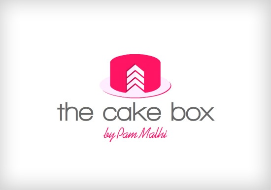 Cake company logo design logo Pinterest