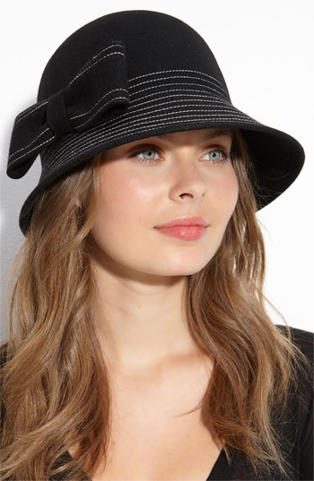 kate spade new york topstitched hat
