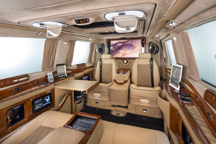 Klassen excellence viano business luxury van mercedes benz for Mercedes benz luxury vans