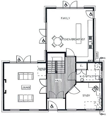 Best 25 house plans uk ideas on pinterest tiny cabins for Self build floor plans