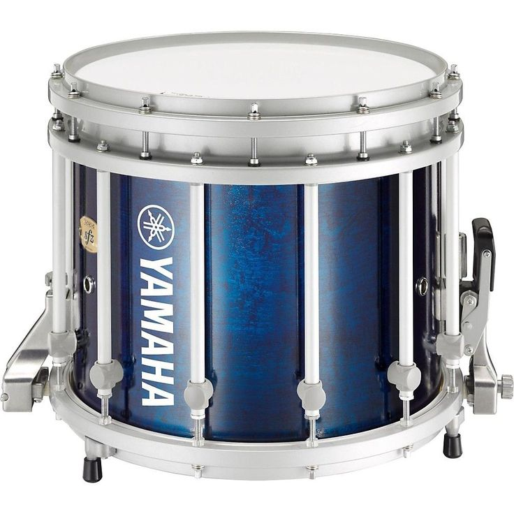 Yamaha 9300 Series SFZ Marching Snare Drum 14 x 12 in. Blue Forest with Standard Hardware