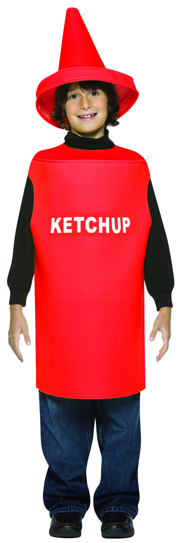 #975 Boy 7-10 Squeeze into a ketchup costume for your summer barbecue, goes great with mustard! #barbecue #costume #summerevent