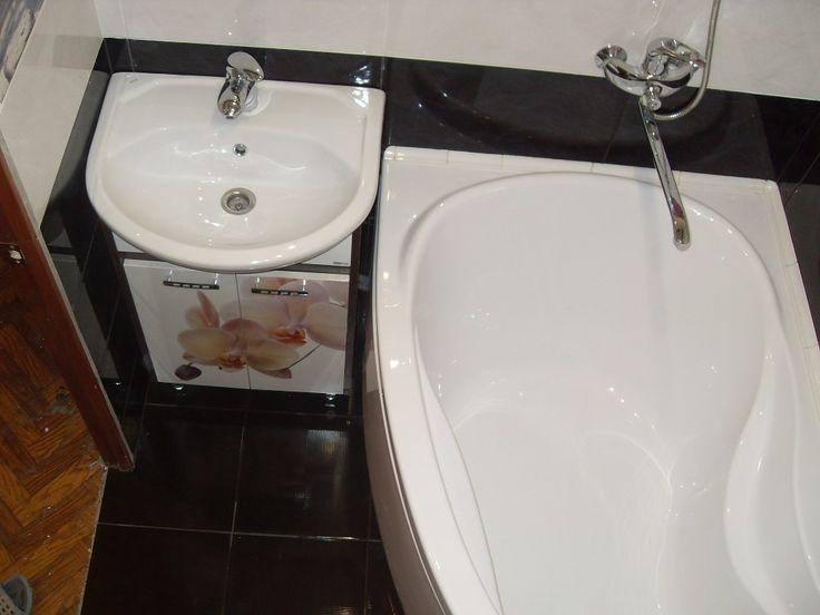 Дизайн маленькой ванной комнаты: с туалетом и с душевой кабиной, фото.   Дизайн ванной комнаты, интерьер, ремонт, фото.