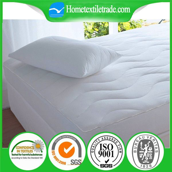 Image Of White Waterproof Crib Mattress Pad Cover In Batu Pahat Quick Details Material 100 Polyester Style Plain Pattern Quilted Technics Woven Size