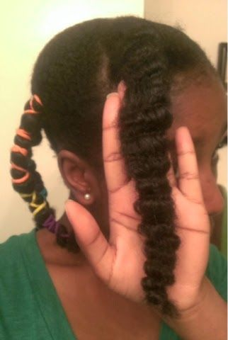 ClassyCurlies.com: Your source for natural hair and beauty care: Natural Hair: Wash Day and Banding Style